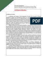 Documentos de Gestao Escola-Agrupamento