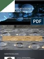 Nanotecnologías y Nuevos Cementos