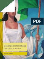 Desafios Matematicos Libro Para El Alumno Libro de Texto.2015-2016.Primaria Sexto Grado