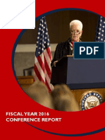 Fy2016 Annual Conference Report