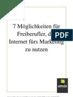 Report Internetmarketing für Freiberufler
