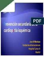 Prevencion Secundaria en Cardiopatia Isquemica Mostaza Prieto