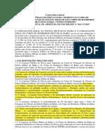 Edital Cfo
