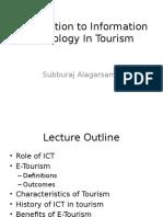 E Tourism Lecture
