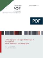 Pierre-André Taguieff - L'idée de progrès (2002)