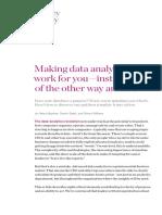 Making Data Analytics