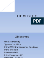 LTE Mobility