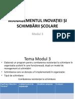 Managementul schimbariiMEP