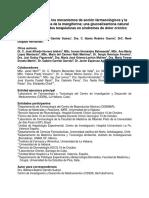 Nuevos Aportes a Los Mecanismos de Acción Farmacológicos y La