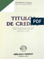 1244 Giuseppe Ferri - Títulos de Crédito