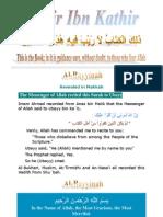 Tafsir Ibn Kathir - 098 Bayyinah