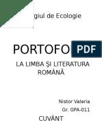 48511434 Portofoliu La Limba Şi Literatura Romană