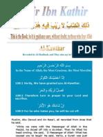 Tafsir Ibn Kathir - 108 Kawthar