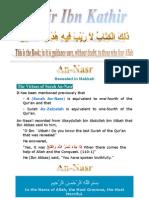 Tafsir Ibn Kathir - 110 Nasr