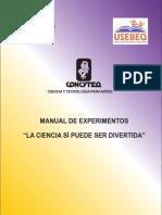 Manual de Experimentos Primaria La Ciencia Puede Ser Divertida part 1