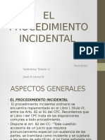 Disertacion Incidental