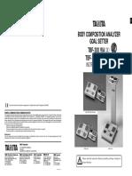 MU.analizador Porcion Grasa TBF 300
