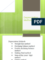 Depreciation Methods(1)