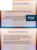 Sejarah Lean Hospital Workshop