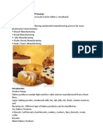 Bakery Manufacturing Processes