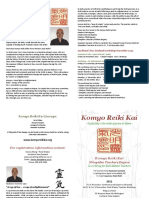 Komyo Reiki Kai Flyer