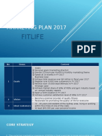 Marketing Plan Fitlife 2017