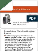 Achmad Marsam Spektroskopi Raman