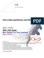 New-Pass4itsure-300-165-dumps-pdf.docx