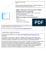 What are open universities for _ Alan Tait .pdf