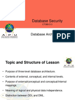 Topic 2 - Database Architecture