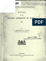 Notes on Ancient Geography of Burma