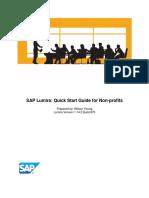 SAP Lumira Quick Start Guide for Nonprofits