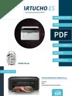Catálogo productos electrónica e informática - Cartucho.es