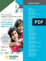 CAJA RURAL Campaña Juguete Solidario