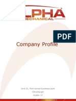 Alpha+Mechanical+Services+Company+Profile