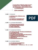 Curso de Didactica Programacion Docente