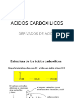ACIDOS CARBOXILICOS-2016