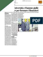 Patto tra Università e Fiamme Gialle - Il Corriere adriatico del 31 maggio 2017