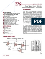 100MHz Operational Amplifier