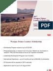 Westpac Future Leaders Scholarship Presentation 2016