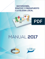 Mayordomia Plan Operativo 2017
