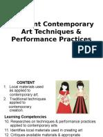3Different Contemporary Art Techniques _ Performance Practices (1)