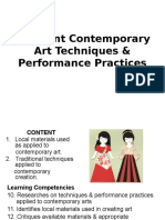 3Different Contemporary Art Techniques _ Performance Practices (1)