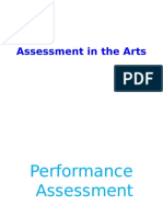 5Assessment in the Arts
