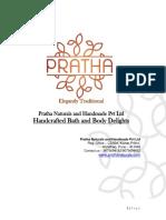 Natural and Handmade Soap - Pratha Naturals and Handmade