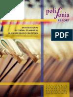 International External Examiners 2014