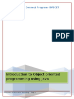 OOPS With Java- V1
