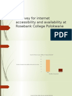 Online survey for internet accessibility and availability at.pptx