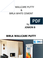 Birla Wallcare Putty
