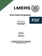 16. Grid Codes Comparacion. Chalmers
